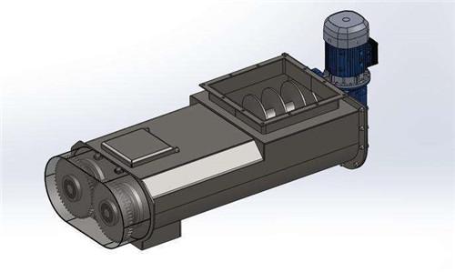绞龙输送机方案设计